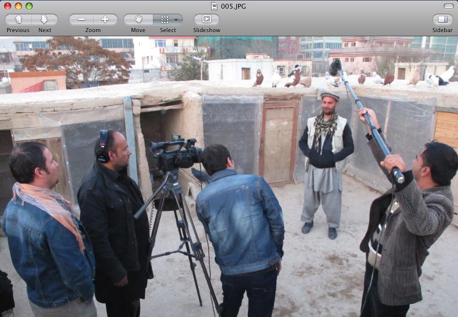 Radio Documentary Training in Kabul, Afghanistan – November, 2012