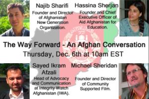 The Way Forward: An Afghan Conversation