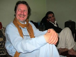 Michael in Nangarhar on production day