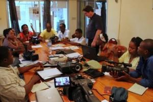 CSFilm training, Haiti