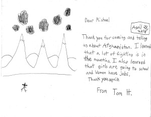 Tom Thank You Card