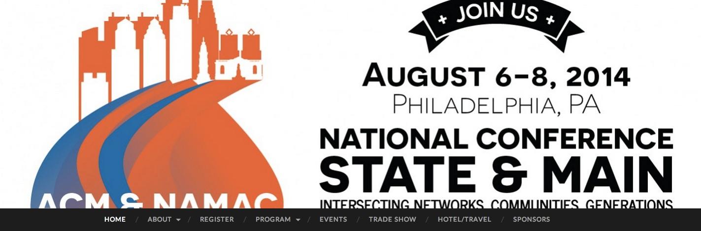 Michael Sheridan to present at NAMAC conference, Philadelphia
