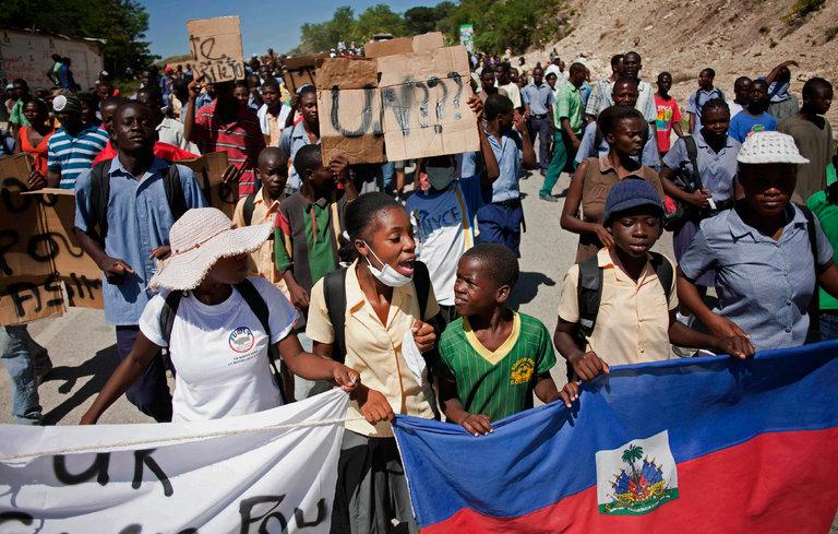 U.N. Admits Role in Cholera Epidemic in Haiti