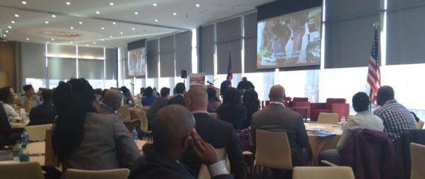 Screening of CSFilm's Haitian-made films at Haitian Diaspora Challenge Initiative Symposium