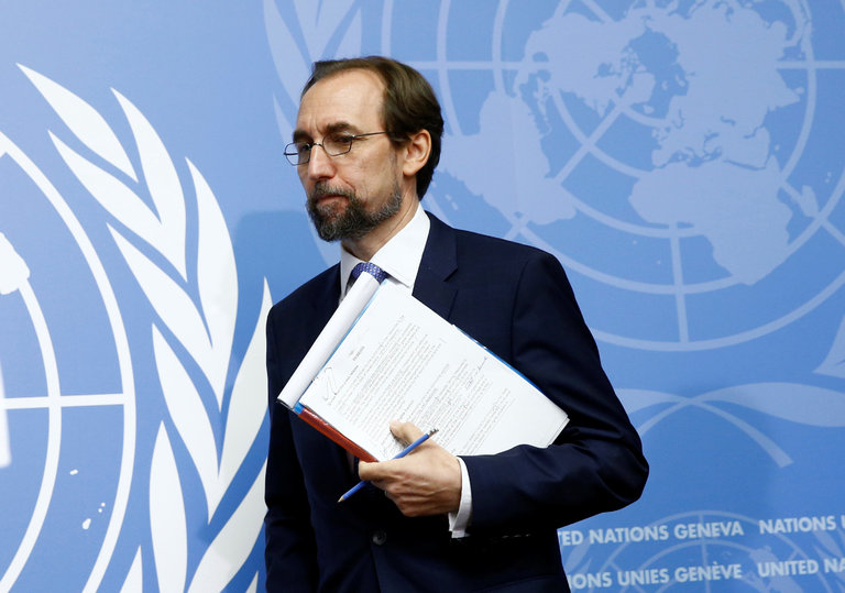 ON THE MEDIA: U.N. Human Rights Chief Condemns Trump's Attacks on Media