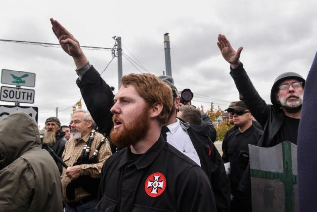 ON MIGRATION: White nationalists stage anti-refugee protests in Tennessee