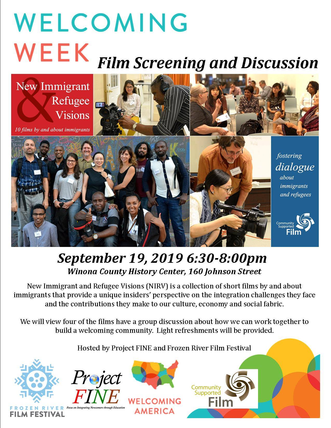 Winona Daily News: New Immigrant and Refugee Visions Film Screening Set for Thursday