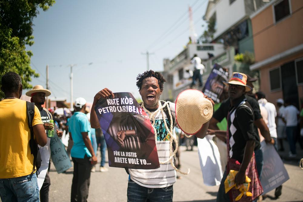 ON HAITI   Haiti's new crisis and the humanitarian risks