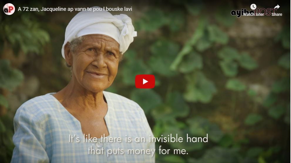Video goes viral: 72-year-old Haitian tea maker still working to feed her family