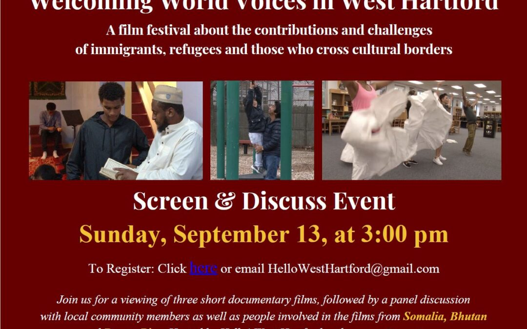 Welcoming World Voices in West Hartford generates stimulating discussion