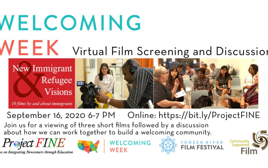 Multiple NIRV Screen&Discuss events this week and next – Free and open to the public – Register!