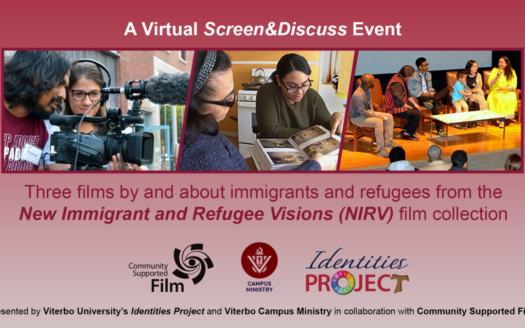 "NIRV films at Viterbo University: ""a much needed wake-up call"""