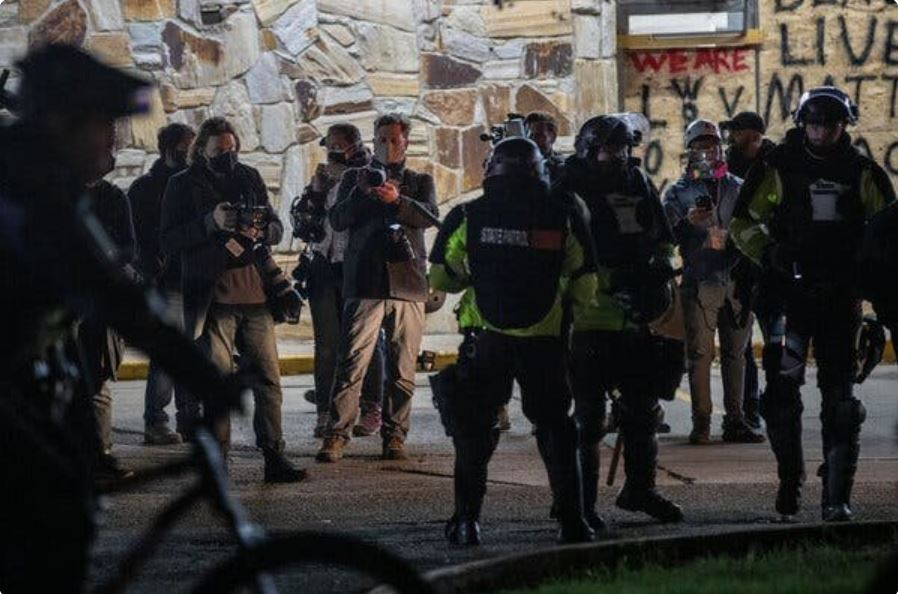 ON THE MEDIA | Journalism under siege in Minnesota