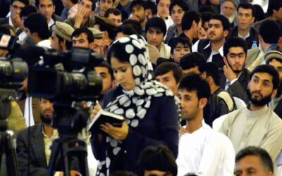 'Journalism is sacred work': Afghanistan's front line reporters