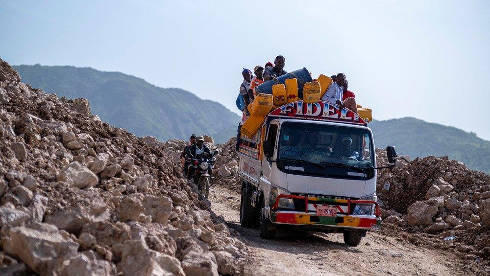 ON HAITI | Haiti earthquake aid hampered by delays