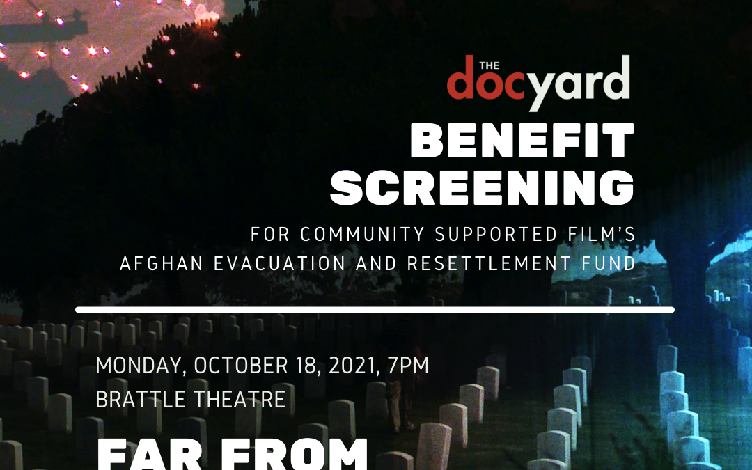 Thank you to The DocYard, John Gianvito and Brattle Theater for CSFilm Benefit Screening – Oct 18th